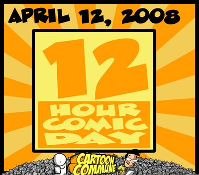 12 hour comic challenge