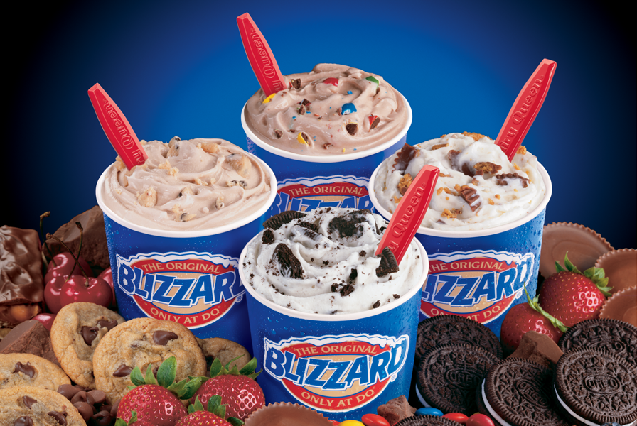 Dairy Queen's Blizzard ice cream treat