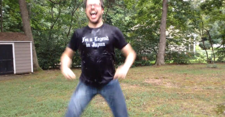 Jason takes the ALS Ice Bucket Challenge