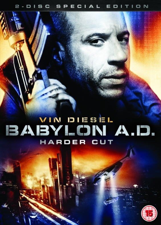 Cover of DVD for Babylon A.D. Harder Cut