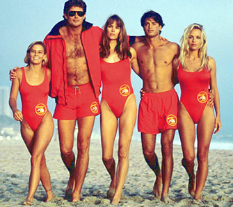 The Baywatch crew