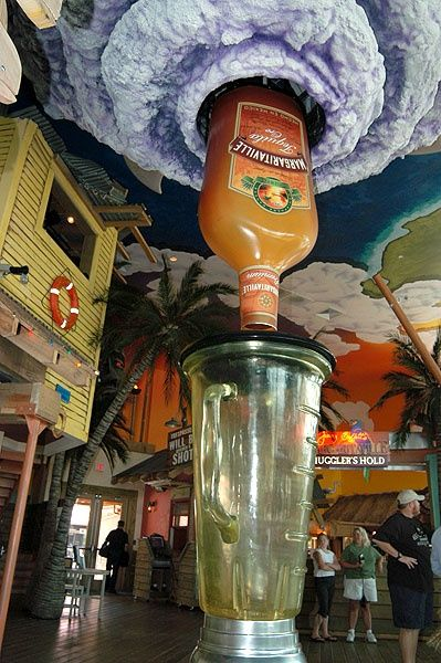 The margarita hurricane from Margaritaville restaurant in Myrtle Beach, SC