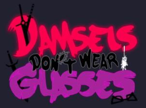 Logo of Damsels Don't Wear Glasses
