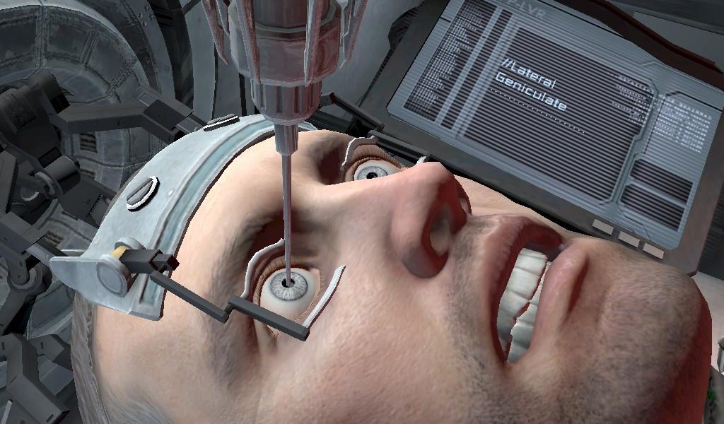 Dead Space eye needle scene