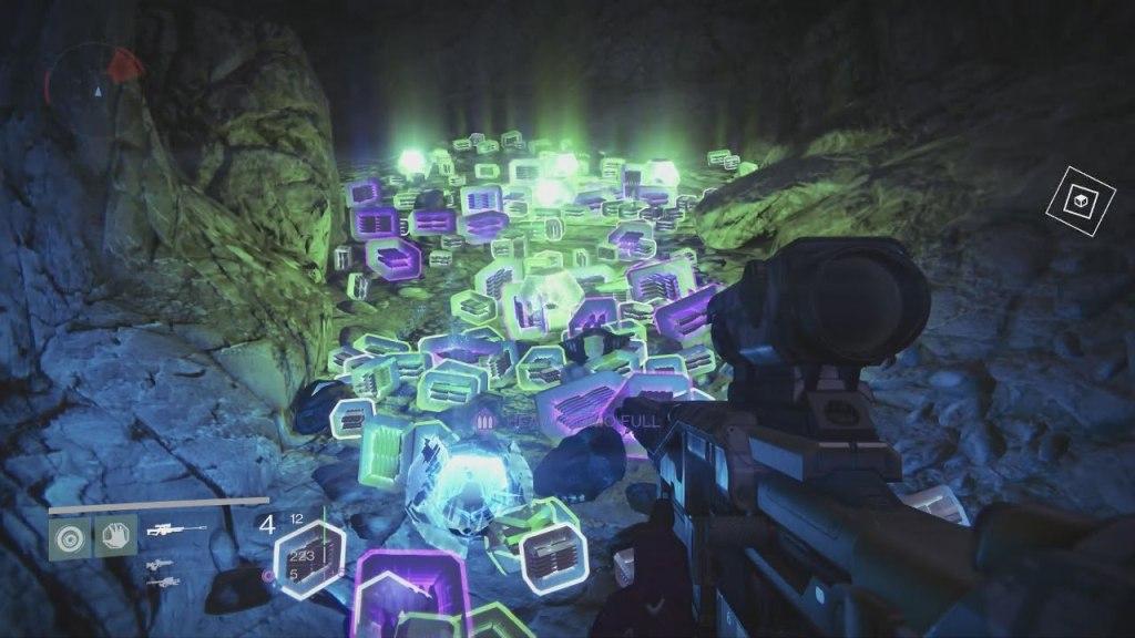 Destiny's loot cave