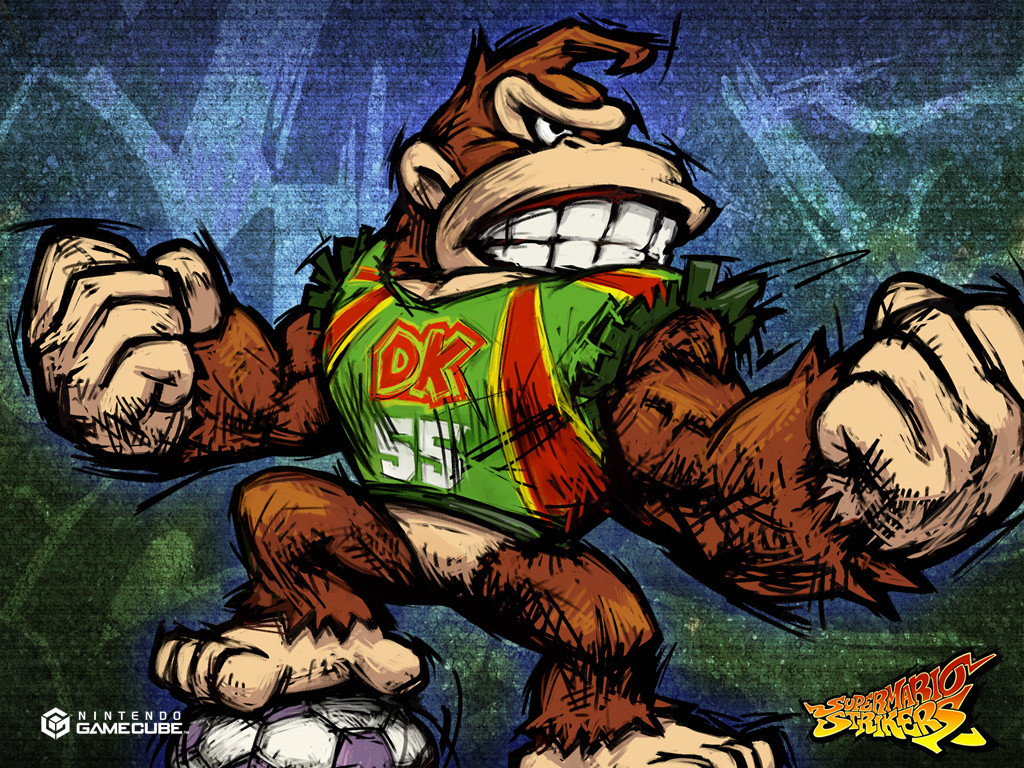 Donkey Kong in Super Mario Strikers