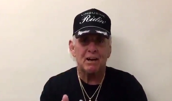 Ric Flair stand defiant after battling from the brink