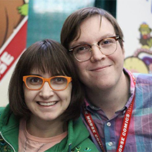 Creators Frank Gibson and Becky Dreistadt
