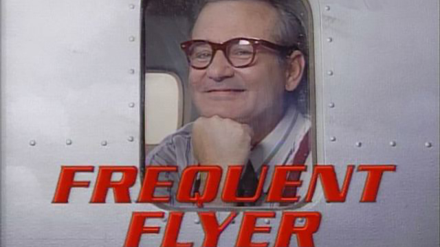 Bill Murray as the Frequent Flyer on Saturday Night Live