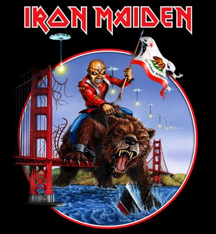 Iron Maiden California Tour