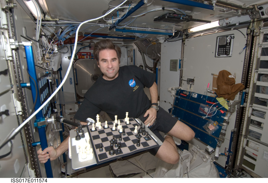 Chess in the ISS