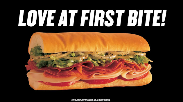 Love At First Bite at Jimmy John's!