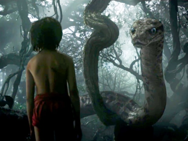 Kaa, from The Jungle Book, voiced by Scarlett Johansson