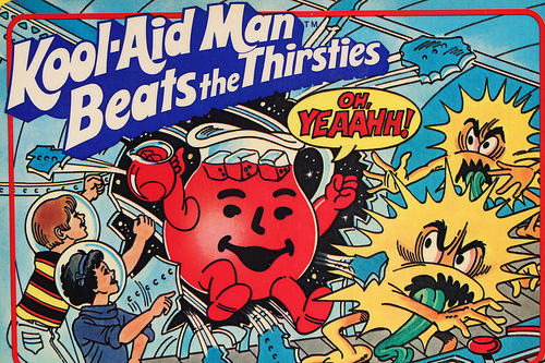 Kool-Aid Man Beats The Thirsties