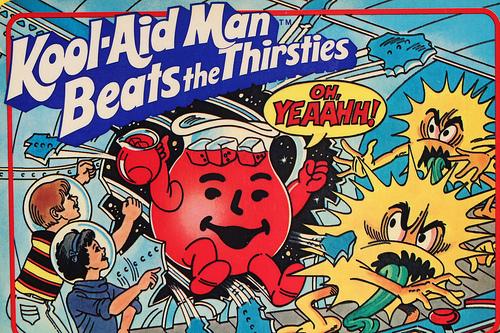 Kool-Aid Man Beats The Thirsties