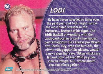 Topps trading card for WCW's Lodi