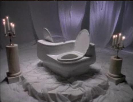 The Love Toilet as seen on Saturday Night Live