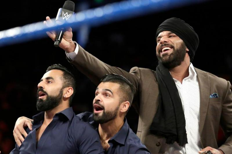 Jinder Mahal reveals his presentation for the Singhs on SmackDown Live