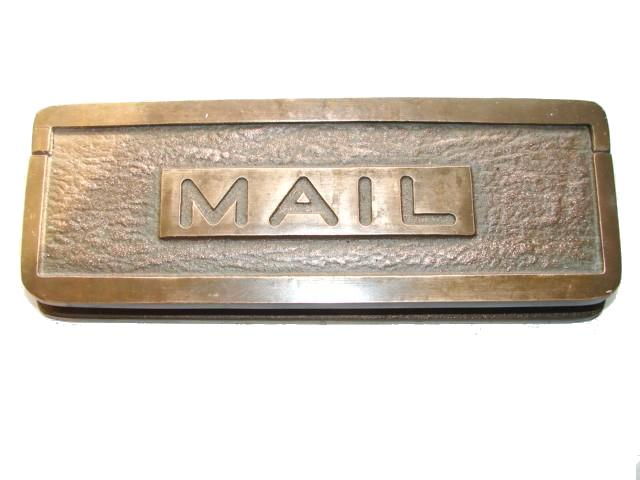 A mail slot