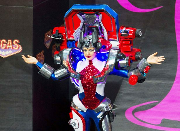 Miss Universe contestant as a Transformer