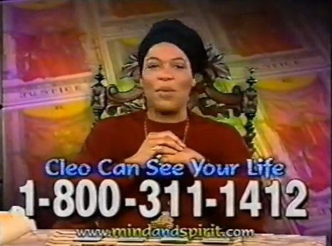 Miss Cleo, the purported psychic