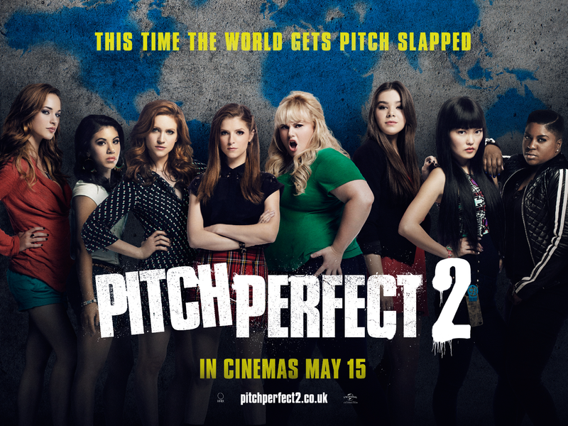 The cast of Pitch Perfect 2