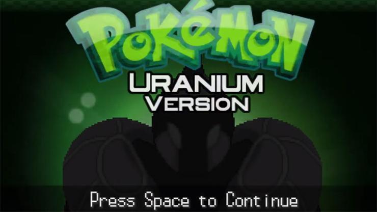 Pokemon Uranium, a fan-made version of the popular Nintendo franchise
