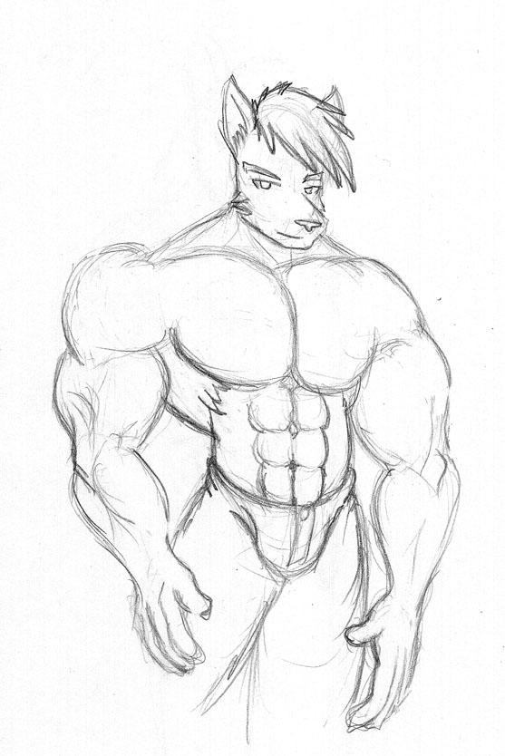 A random wolf from DeviantArt