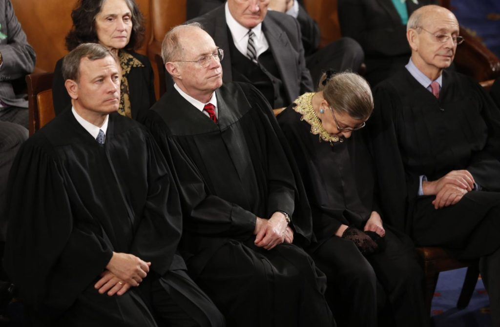 Ruth Bader Ginsburg falls asleep at the State of the Union address