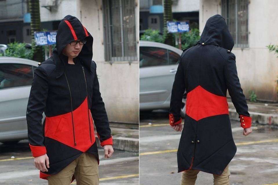 How you look in real life in an Assassin's Creed hoodie