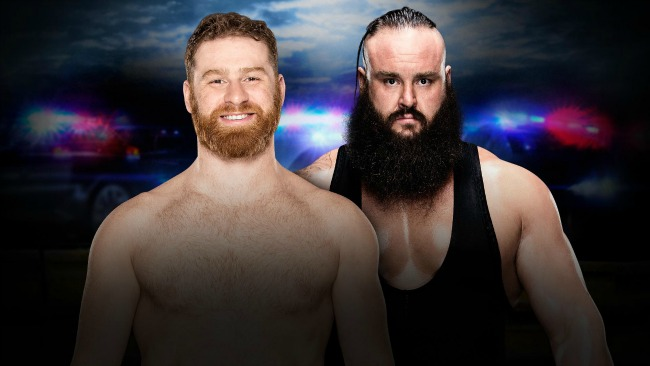 Sami Zayn vs. Braun Strowman at WWE Roadblock: End of the Line