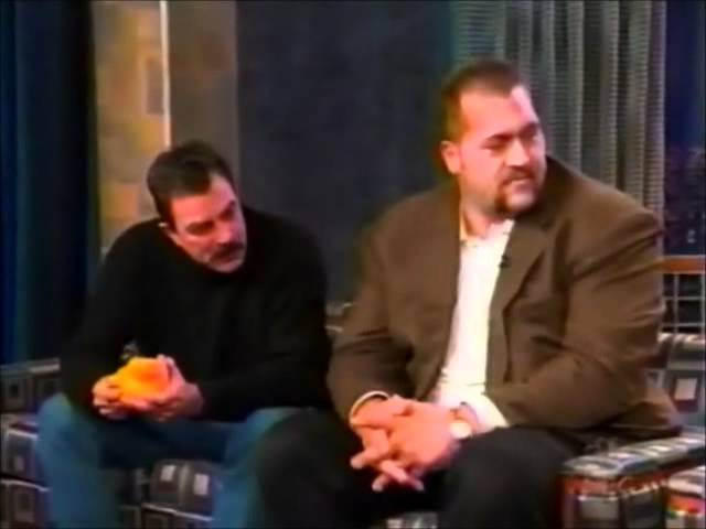 """Tom Selleck and Paul """"The Big Show"""" Wight appear on Conan O'Brien"""