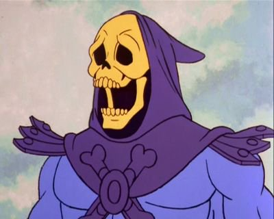 Skeletor is shocked
