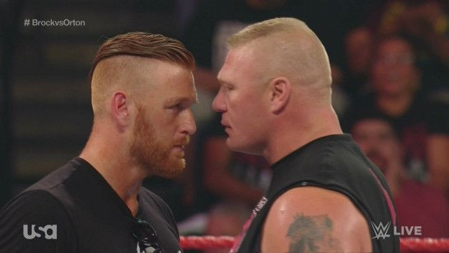 Brock Lesnar confronts Heath Slater about his many children