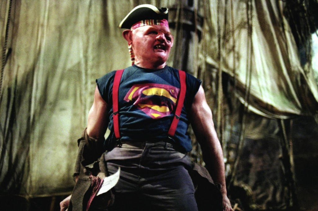 Sloth from The Goonies as Pirate Superman