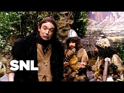 Mike Myers as Lothar of the Hill People on Saturday Night Live