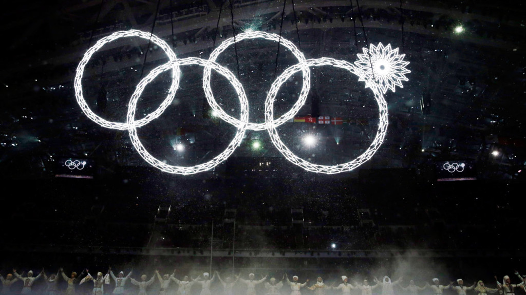 Olympic ring fails to open