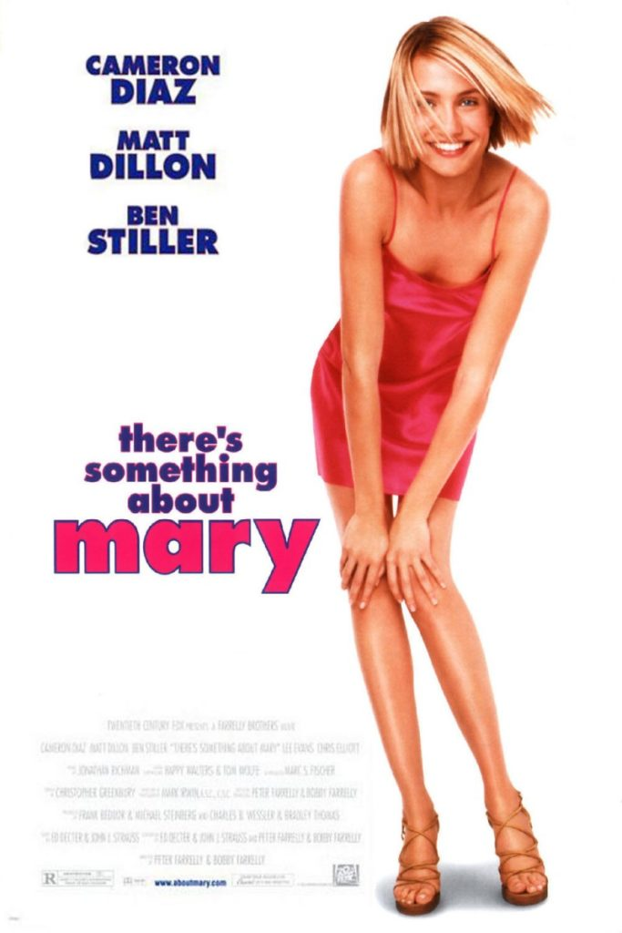 Poster for the movie, There's Something About Mary