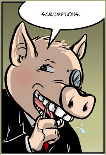 Sophisticated Pig panel