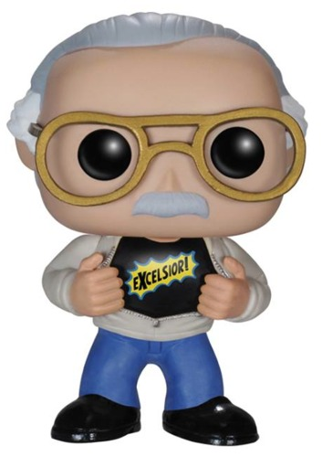 Stan Lee Excelsior Funko Pop figure
