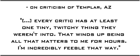 Templar AZ interview quote 1