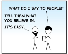 Tevis\' XKCD homage