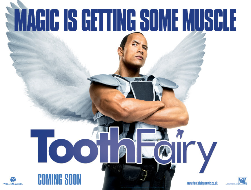 The Rock is The Tooth Fairy