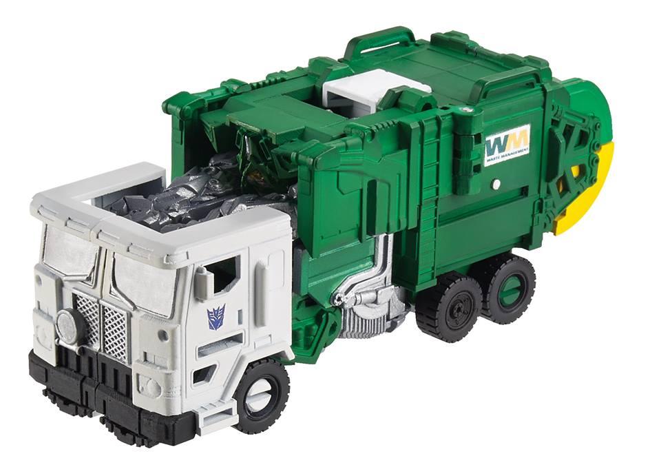 Transformers trash truck