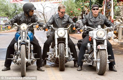 Wild Hogs starring Tim Allen, John Travolta, and Martin Lawrence