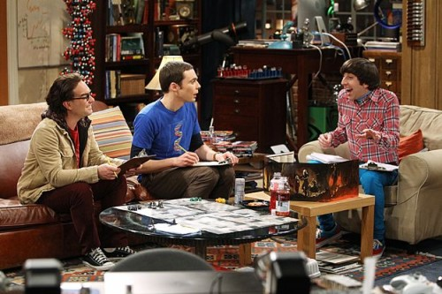 Wolowitz as DM on The Big Bang Theory